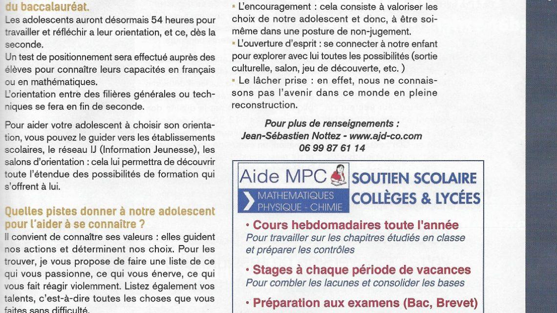 Article AlluresCarrières – Choisir son orientation